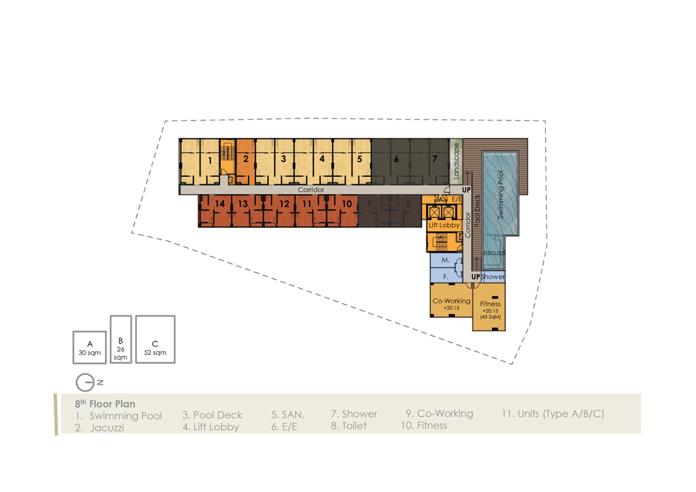 8th Floorplan